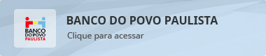 Banner BANNER - BANCO DO POVO